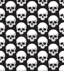 Skull Pattern Amazing Skull Pattern Stock Vector Illustration Of Black Cross 48