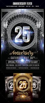 Anniversary Flyer Clubs Parties Events Birthday