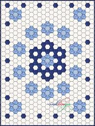Best 25+ Hexagon quilting ideas on Pinterest   Hexagon quilt, What ... & hexagon quilt layout   ... About Inklingo » Blog Archive » Inklingo Hexagons  in Adamdwight.com