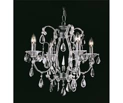 versailles 3 light crystal silver black chandelier impex co03339 04 s