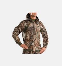 under armour hunting. men\u0027s ua armour™ stealth hunting rain jacket, realtree ap under armour