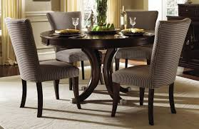 round dining room tables. Magnificent Round Dark Wood Table | Home Furniture Dining Room Tables