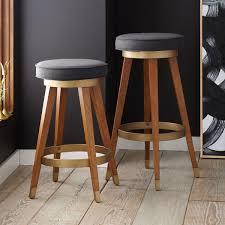 Kitchen Stools Sydney Furniture Mid Century Swivel Bar Counter Stool West Elm Au