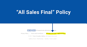 all s final policy