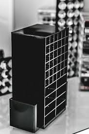 White/Black/ White 72 Lipstick Acrylic display Rack Shelf