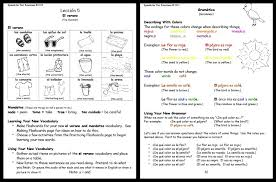Free Spanish Worksheets For Middle School Free Worksheets Library ...