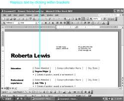 Ms Office 2003 Templates Using Word Wizards Chapter 11 Templates Wizards And