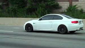 All BMW Models 2010 bmw m3 coupe : 2010 BMW M3 WHITE ON BLACK WHEELS ON NYC LONG ISLAND - YouTube