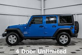 2011 jeep wrangler unlimited 4 door sport 16129645 3