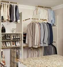 closet rods closet bedroom closet rod