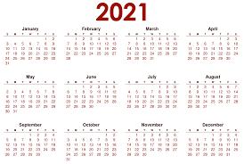 Calendar 2021 Wallpapers on WallpaperSafari