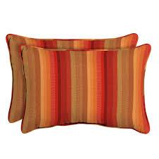home decorators collection sunbrella astoria sunset oversized lumbar outdoor throw pillow 2 pack