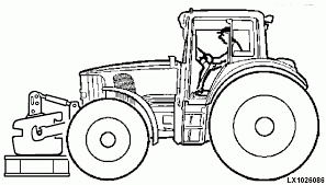 Small Picture John Deere Tractor Coloring Pages Coloring Home