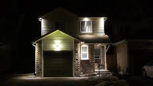 Outside Pot Lights Evening With Exterior Pot Lights On 21 Poolton Crescent