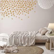 glitter stars wall decals