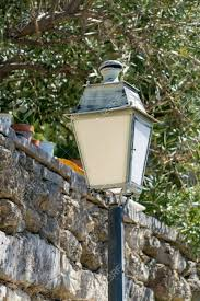 Small Street Light French Style Old Vintage Iron With Glass Street Light In Small