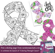 Small Picture 7 artists giving away free coloring pages for cancer awareness