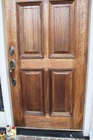 how to make a front doorPolishing off the old front door  Unskinny Boppy