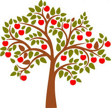 apple tree branch clipart. apple tree clipart: graphic branch clipart r