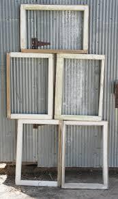 old vintage wood window frames antique home crafts decor