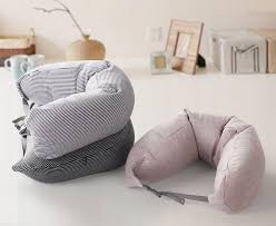 muji inspired fitted microbead travel neck pillow cushion voxtera 1705 31 voxtera 2