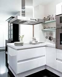 Small Contemporary Kitchens Small Modern White Kitchen Kitchen And Decor