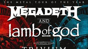 Megadeth, <b>Lamb Of God</b>, Trivium And In Flames' Metal Tour Of The ...