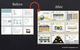 powerpoint company presentation sample corporate presentation powerpoint design makeover examples