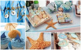 Small Picture How To Throw A Beach Themed Wedding Shower Details On Diy Decor