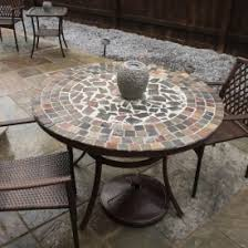 diy round outdoor table. DIY Stone Table Diy Round Outdoor Table 6