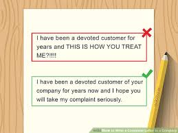 Letter Of Complain How To Write A Complaint Letter To A Company With Sample Letters