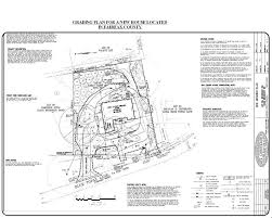 land development grading plans