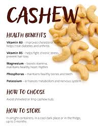 cashew learn nutrition value facts and see recipes
