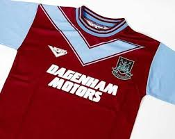 All our football shirts are original and official dating from. West Ham Shirt Etsy
