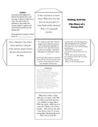 anne frank timeline arbetsblad anne frank och charts anne frank cubing assignment this worksheet contains six assignments including vocabulary writing