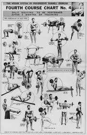 Joe Weider S Bodybuilding System Book And Charts Pin By Pritesh Khatri On Health Fitness Exercise