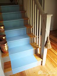Painted Stairs The Bonus Room Stairs Painted Daisey Jayne
