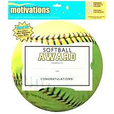 softball award certificate award template word sakusaku co