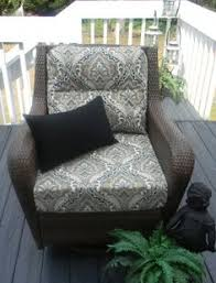 indoor outdoor deep seating chair cushion by pillowscushionsohmy 149 99