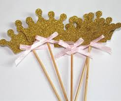 Gold Birthday Decorations Compare Prices On Gold And Pink First Birthday Decorations Online
