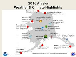 Alaska Annual Weather Chart Experts Say 2016 Smashed Previous Records For Alaskas