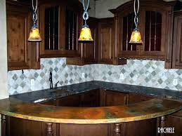 bar top lighting. Bar Top Lighting Sink Water On Fire Custom Curved Copper Under Counter