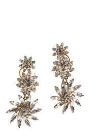 elizabeth cole gold three bloom vine earrings 273 90067213 ebay link