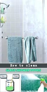 clean glass shower doors how to cleaning with vinegar and baking soda lemon total dawn