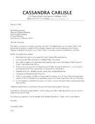 Formal Cover Letter Formal Cover Letter Template Putasgae Info