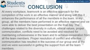 reflective essay on teamwork continued 23 online assignment
