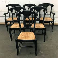 pottery barn dining chairs pottery barn dining chairs napoleon set of 6 aspect fit width height cly 2 9 pottery barn dining room chair slipcovers