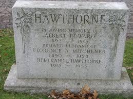 Hawthorne, Albert (Lundy's Lane Cemetery) | Niagara Falls Canada