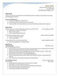 Sales & Catering Coordinator Resume. Dylan Clark 625 W Hickory St. Denton,  TX 571-294-3050 DylanMcGarityClark ...