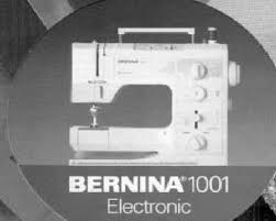 Bernina 1001 Sewing Machine Manual